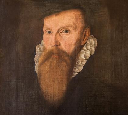 Portrait of Sir Richard Shireburne by an unknown artist